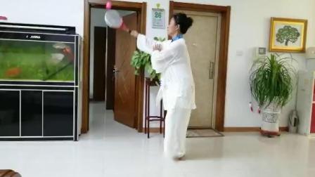 柔力球个人赛-通辽市柔力球协会姜丽萍-太极柔力球