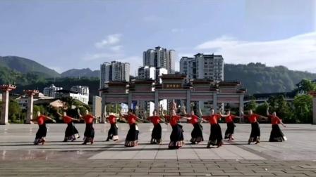 雅安飘飘舞蹈《我的九寨》藏族舞
