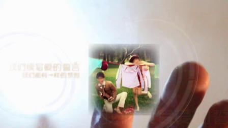 视频制作 1105创意手指尖的爱情浪漫婚礼相册照片展示求爱求婚爱情结婚视频片头ae模板 ae教程