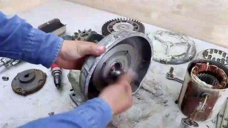 """一台锈迹斑斑的环形鼓风机被""""闲人""""翻新后,成品跟新买的一样"""