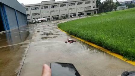 乐迪高速航拍机训狼QAV210自动巡航效果视频
