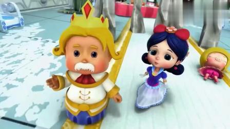猪猪侠:两个巴罗顿时变声国王和公主,谁料石甲熊顿时清醒!