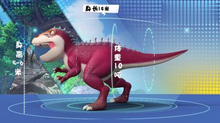 猪猪侠:小猪猪搜集南方巨兽龙资料:肉食性恐龙,极其聪明!