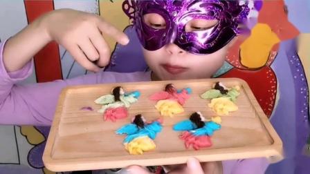 """吃货馋嘴:创意巧克力""""吹号角的小姑娘"""",香甜丝滑好吃,是我向往的生活"""