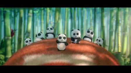 熊出没原始时代:熊大被一群小熊猫整惨了,它好狼狈呀