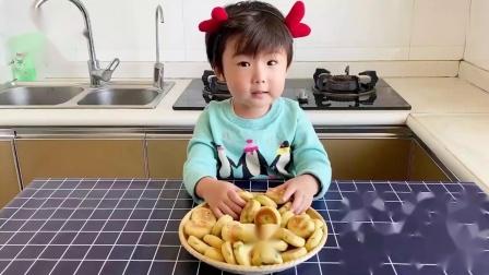 香葱苏打小饼干,不用烤箱不油炸,香软酥脆口感好,女儿超喜欢