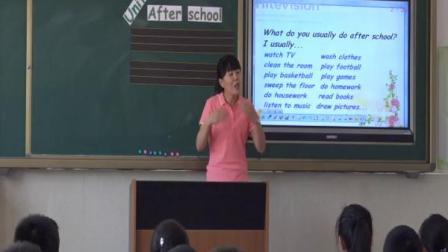 辽师大版_五年级英语下册_《Unit 7 After school》[范老师]『市一等奖』_优质公开课教学视频