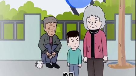 猪屁登:屁登喝到了免费的饮料,奶奶却看不下去了