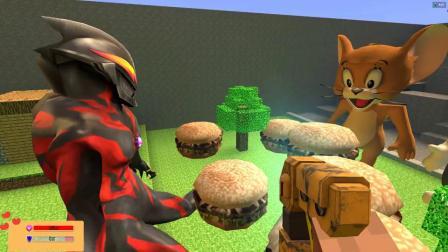 GMOD贝利亚把杰瑞鼠和汤姆猫的汉堡包偷走了
