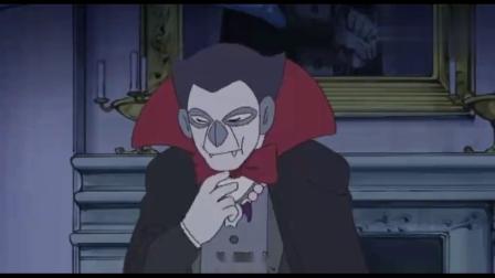 哆啦A梦:哆啦A梦醒来把菠萝面包丢给吸血鬼,吸血鬼直接吃掉了!