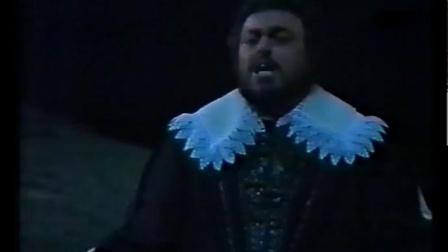 意大利女高音 Mara Zampieri 帕瓦罗蒂 - 《我陪你在一起)》威尔第歌剧《假面舞会》1978年1月斯卡拉歌剧院 - Teco io sto
