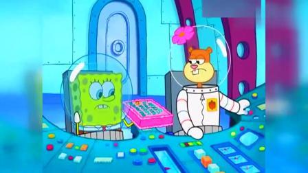 小海绵带了蛋糕,坐上珊迪的火箭,结果却出现问题,蛋糕分解了.mp4