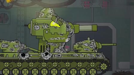 坦克世界动画:KV4想独自冲出德系基地?苏系工程师是敌还是友!