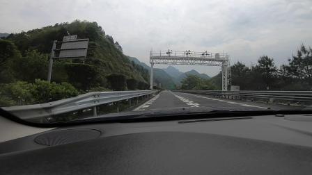 小伙自驾浙江西部山区,山体威猛雄壮,就像人猿泰山场景.mp4