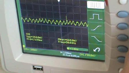 示波器测量时钟演示、技兴汇、手机维修学徒