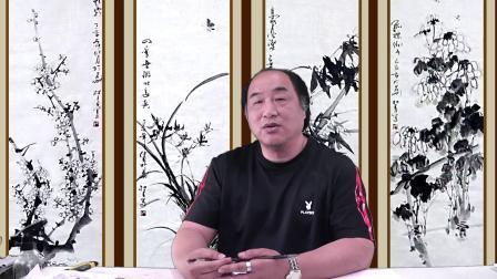 电视讲座《林老师教您写意花鸟画》第十讲菊花画法.mp4