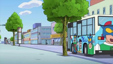 [1013-3]追主题巴士哦-蜡笔小新2019新番