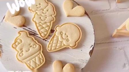 糖玩意儿卡通雪糕饼干烘焙制作