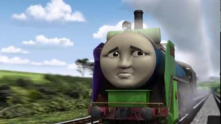 托马斯和朋友:西诺在恢复后第一次上轨道,结果零件全都掉落了!