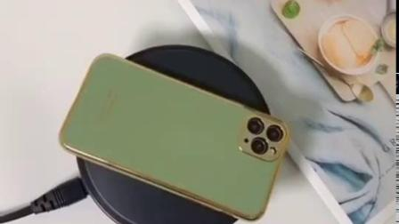 The new model is suitable for iPhone 11promax electroplated 6D radium engraved m
