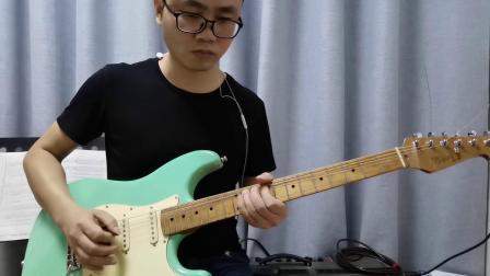 《吉他伴侣》高级篇第二章第二节经典solo练习之《加州旅馆》电吉他尾奏