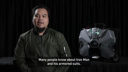 【游民星空】《钢铁侠2》战争机器主题便携水冷PC