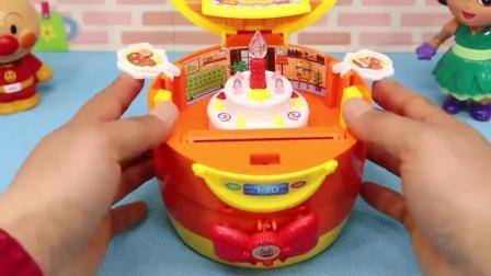 乐玩具:朵拉分享面包超人电饭煲料理蛋糕甜品