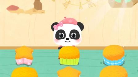 奇妙手工调色 制作五颜六色的蛋糕 亲子早教游戏.mp4