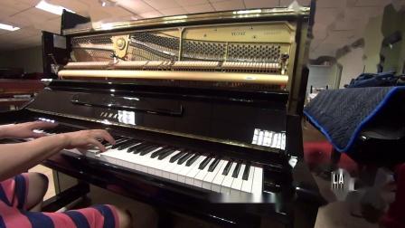 番号5858073雅马哈YU3SZ日本原装进口YAMAHA静音系统2000年产日本内销版U3二手钢琴