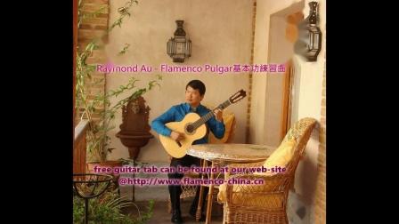 佛朗明哥吉他拇指基本功練習曲1-3