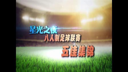 星光之夜第八届8人制足球联赛 第六轮五佳集锦