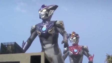 罗布奥特曼:罗布兄弟遇上强大怪兽,试试新技能火焰龙卷风!