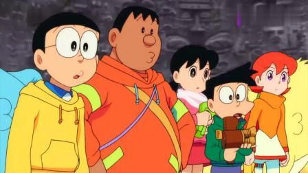 哆啦A梦:出现两个哆啦A梦,胖虎出测试题,冒牌货暗中做手脚