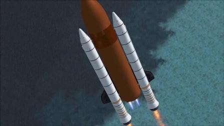 模拟航天飞机一款很少有人知道的游戏,大场面制作,真实模拟