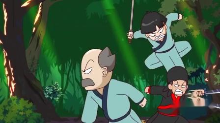 搞笑动漫:你这哪是来报恩,敌人没干倒自己人全趴了