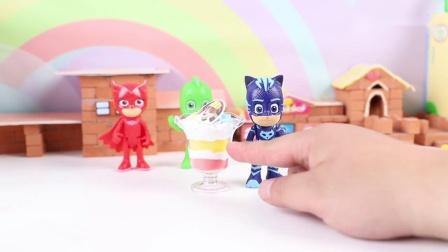 睡衣小英雄合作制作酸奶水果甜品.mp4