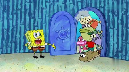 海绵宝宝:泡芙老师违章开船,所有人都开泡泡船,这是怎么回事