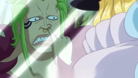 海贼王:自古绿黄出cp,这俩货吵架的样子像极了索隆山治,这是真爱啊!