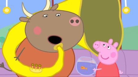 小猪佩奇:金鱼金金不爱吃饭了,佩奇好担心,带她去看兽医