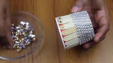 一次性纸杯、冰棒棍,教你手工制作一个漂亮的装饰品,快来试试