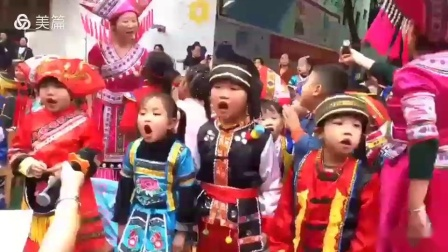 河池市宜州区幼儿园壮族三月三活动视频 截取合并.mp4