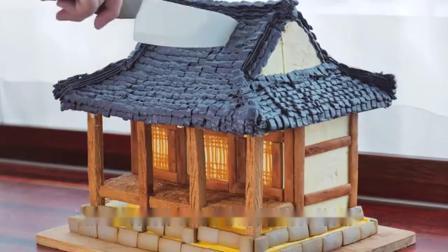翻糖蛋糕新玩法:牛人把蛋糕做成逼真的房子!这也太厉害了吧