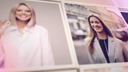 视频制作 1641 超酷100张图片照片墙图片墙马赛克图片拼图翻转视频墙企业员工照年会宣传片多图片展示视频ae模板 ae教程
