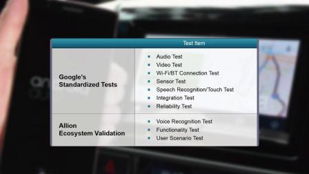 车用生态圈验证测试服务