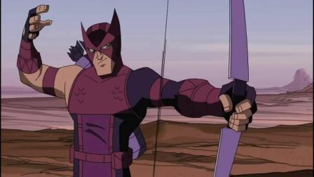 复仇者联盟:鹰眼和黑寡妇二打一,浩克疯狂被打,毫无还手之力