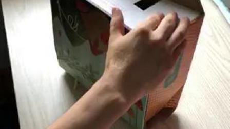 粽子包装盒折叠方法