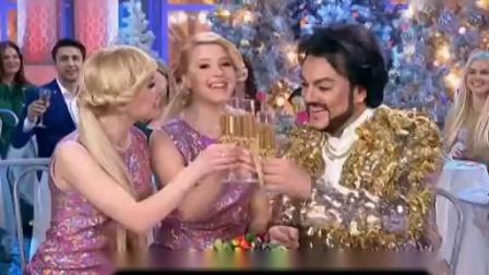 """俄罗斯蓝光之夜2015群星合唱""""五分钟""""_高清"""