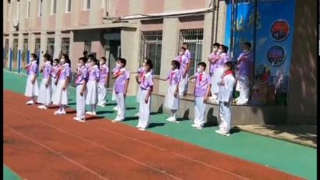 中山实验学校小学部 六年三班升旗仪式