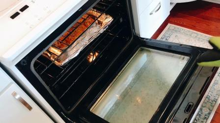 美国山姆店配海鲜馅的三文鱼,西式烤箱做法,营养美味,天下无双