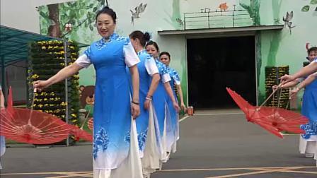 芙蓉雨-模特伞艺基础训练